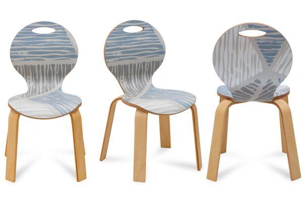 Pearl Sandalye Dijital Laminant